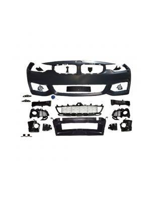 Voorbumper | BMW 4-serie F32 F33 F36 2013- | voor M-pakket | ABS Kunststof