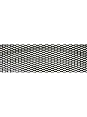 Racegaas zwart | ABS Kunststof | 120*30CM | Ruitmaat 23*8MM