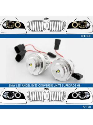 LED Angel Eyes upgrade kit BMW 5-serie E60/E61 LCI halogeen 24W