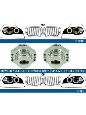 BMW 3-serie E90 E91 Angel eyes ombouwen naar LED