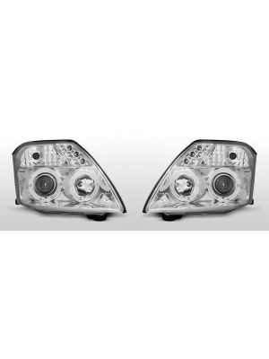 angel eyes koplampen set citroen c2 2003-2010 chroom of zwart