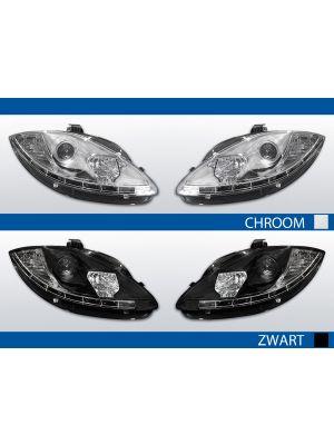led drl koplampen seat leon/altea/toledo 2005-2009 online bestellen in chroom of zwart