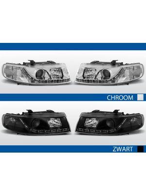 bestel led drl koplampen voor seat leon/toledo zwart of chroom