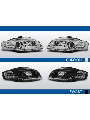 tube light koplamp audi a4 b7 met led knipperlicht