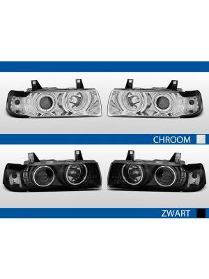 angel eyes koplampen 3-serie e36 chroom