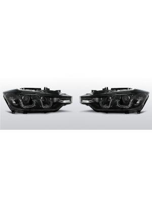 Koplampen met U LED DRL BMW 3-serie F30 / F31