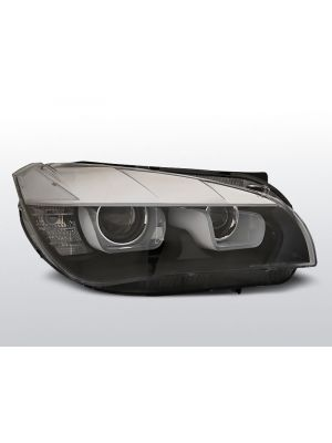 Koplampen Tube Light Real DRL   Xenon   BMW X1 E84 2012-2015   zwart