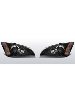 koplampen ford focus mk2 zwart