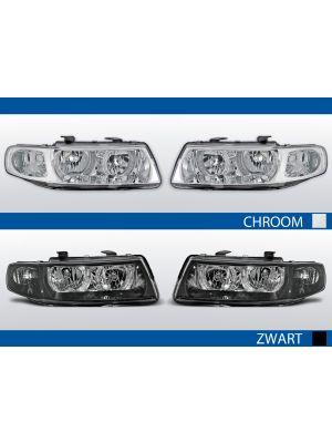 angel eye koplampen voor seat leon/toledo in chroom of zwart