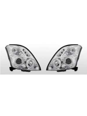 Koplampen Angel Eyes | Suzuki Swift 2005-2010