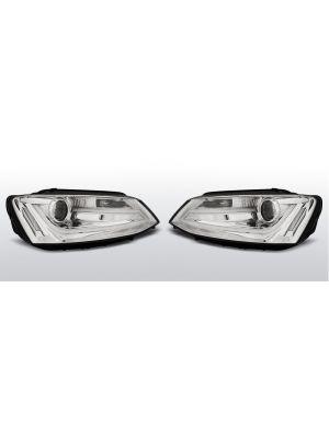 Koplampen Tube Light Real DRL | Volkswagen Jetta VI 2011-
