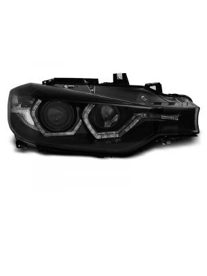 Koplampen | BMW 3-serie F30 / F31 2011-2015 | 3D LED Angel Eyes | REAL DRL