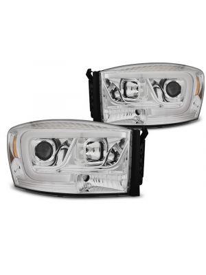 Koplampen   Dodge Ram 2006-2008   Tube Light