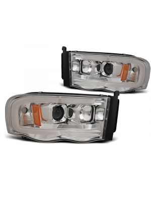 Koplampen   Dodge Ram 2002-2006   Tube Light