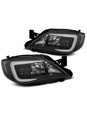 Koplampen | Subaru | Impreza 07-12 5d hat. | LED | Tube Light