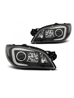 Koplampen | Subaru | Impreza 05-07 4d sed. / Impreza Plus 05-07 5d sta. | LED | XENON | Tube Light