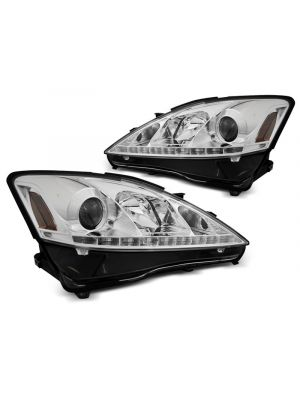 Koplampen | Lexus | IS 05-09 4d sed. / IS 09-13 4d sed. / IS C 09-13 2d cab. | LED | REAL DRL |