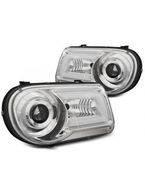Koplampen | Chrysler | 300C 04-11 4d sed. / 300C Touring 04-11 5d sta. | LED | Tube Light