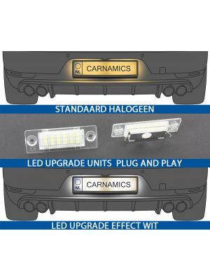 Kentekenverlichting | Volkswagen Caddy / Golf Plus / Jetta / Passat (3BG) Sedan / Touran / Passat (B6) Combi / Transporter (T5) | Skoda Superb | LED