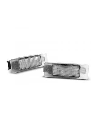 Kentekenverlichting   Diverse Peugeot & Citroën modellen   LED