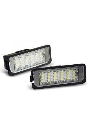 Kentekenverlichting | Volkswagen | Eos 06-13 2d cab. / Golf 98-08 3d/5d hat. / Lupo 98-05 3d hat. / New Beetle 05-11 / Passat 05-10 4d sed. / Phaeton 02-15 4d sed. / Polo 01-09 3d/5d hat. | LED