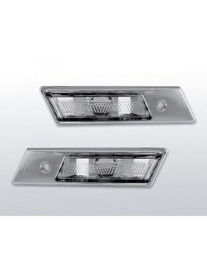 zijknipperlichten voor bmw e32/e34/e36 in chroom
