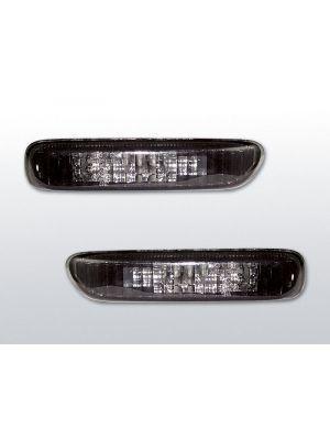 zijknipperlichten set voor bmw e46 zwart