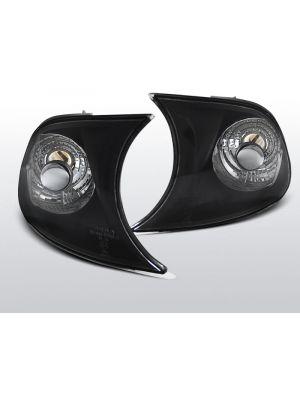 voorknipperlichten set voor bmw e46 in zwart geschikt voor coupe of cabrio