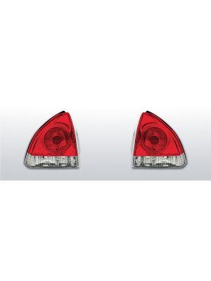 achterlichten honda prelude 4 rood/wit
