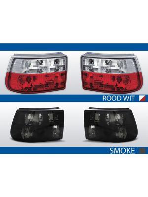 achterlichten opel astra f rood/wit of smoke