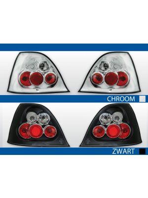 achterlichten rover 200/25 chroom of zwart