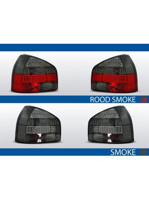 achterlichten audi a3 8l rood/smoke of smoke
