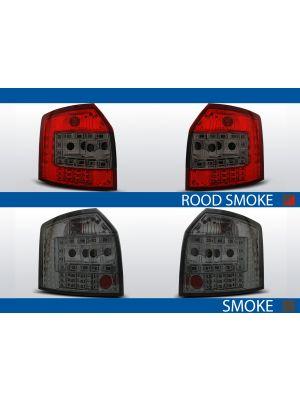 achterlichten audi a4 b6 rood/smoke of smoke