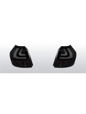 achterlichten bmw 1 serie e81 zwart/smoke