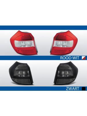achterlichten bmw 1 serie e81 rood/wit of zwart