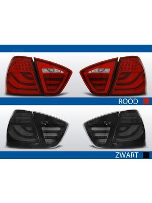 achterlichten bmw 3 serie e90 rood of zwart
