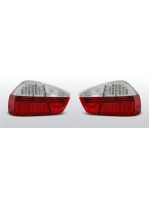 achterlichten bmw 3 serie e90 rood/wit