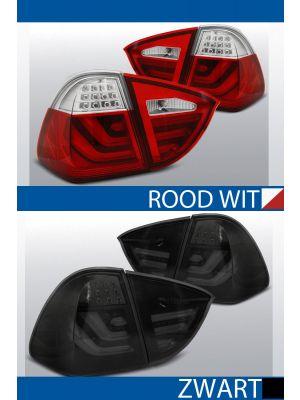 achterlichten bmw 3 serie e91 rood/wit of zwart