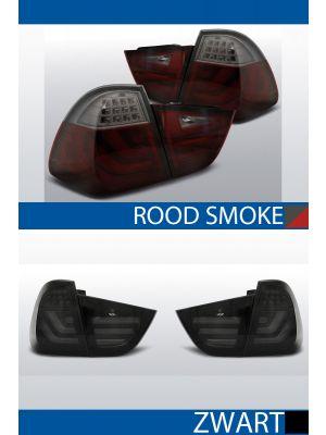 achterlichten bmw 3 seire e91 rood/smoke of zwart/smoke