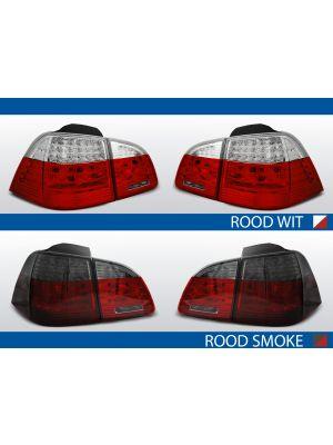 achterlichten bmw 5 serie e61 rood/wit of rood/smoke