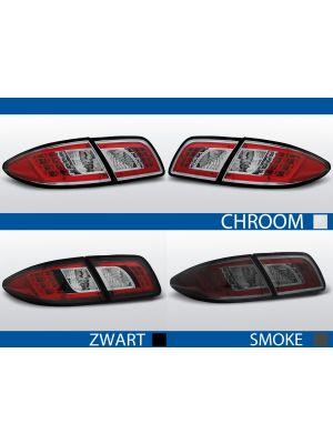 achterlichten mazda 6 chroom, smoke of zwart