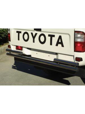 Rear Bar | Toyota | Hilux E.C. 02-05 2d pic. / Hilux D.C. 02-05 4d pic. | 2.5 TD versie | RVS