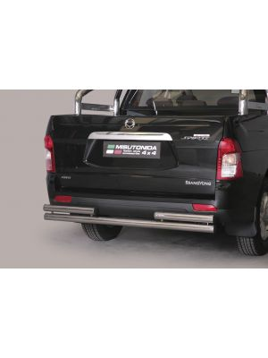 Rear Bar | Ssangyong | Actyon Sports 12- 4d pic. | RVS