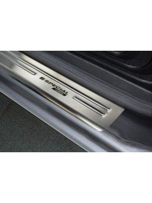 Instaplijsten | Mercedes-Benz | V-klasse 14-19 5d bus. / Vito Tourer 14- 4d bus. | W247 | 2-delig | Special Edition RVS rvs zilver Zijdeglans