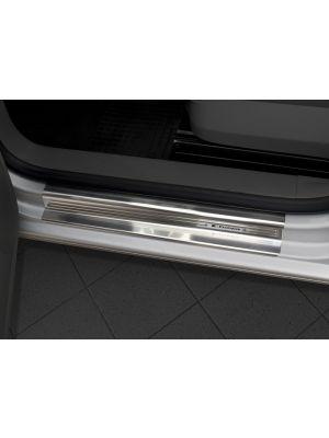 Instaplijsten | Volkswagen | Caddy Combi 04-10 4d mpv. / Caddy Combi 10-15 4d mpv. / Caddy Combi 15- 5d mpv. | 2-delig | RVS rvs zilver