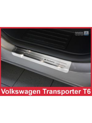 Instaplijsten VW Transport T6 RVS van Avisa