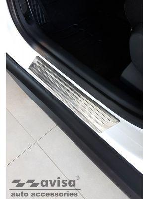 Instaplijsten | Citroen | C3 Aircross 17- 5d suv. | Lines | 4-delig | RVS rvs zilver