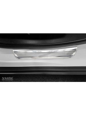 Instaplijsten | Mercedes-Benz | GLC-klasse 15-19 5d suv X253 / GLC-klasse 19- 5d suv X253 / GLC-klasse Coupé 16-19 5d suv C253 / GLC-klasse Coupé 19- 5d suv C253 | voor de achterportieren | Lines | 2-delig | RVS rvs zilver