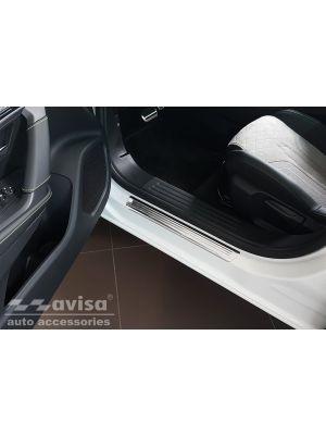 Instaplijsten | Peugeot | 2008 19- 5d suv. | Lines | 4-delig | RVS rvs zilver