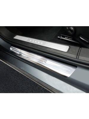 Instaplijsten | Volvo | S60 19- 4d sed. / V60 18- 5d sta. | Lines | 4-delig | RVS rvs zilver